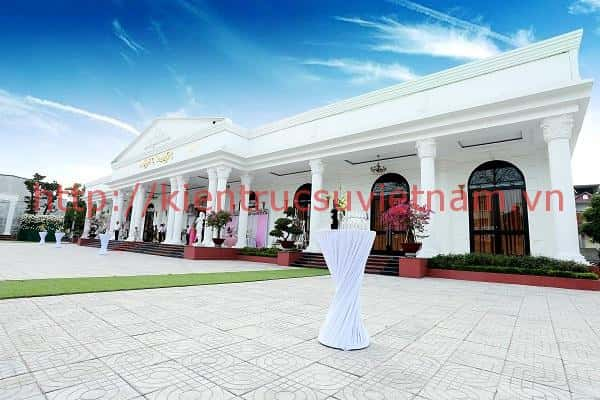 thiet ke nha hang tiec cuoi dep 1 - Thiết kế trung tâm tổ chức sự kiện nhà hàng tiệc cưới