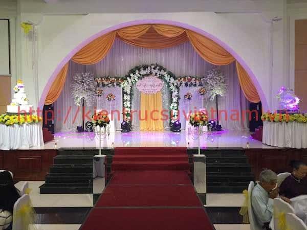 thiet ke nha hang tiec cuoi dep - Thiết kế trung tâm tổ chức sự kiện nhà hàng tiệc cưới