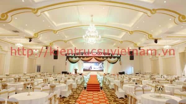 thiet ke nha hang tiec cuoi po - Thiết kế trung tâm tổ chức sự kiện nhà hàng tiệc cưới