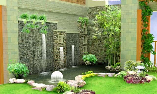 Tiểu cảnh sân vườn biệt thự