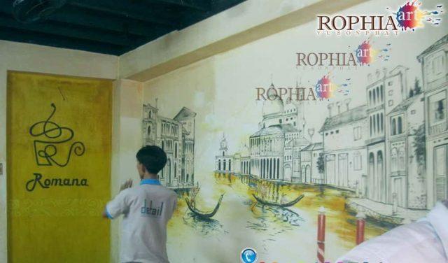 tranh tuong cafe 033 s 6876 e1619109928570 - Vẽ tranh tường quán Cafe 2d, 3d cực đẹp theo yêu cầu đảm bảo tiến độ