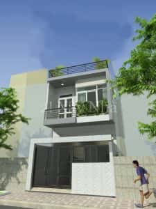 xay nha 2 tang gia 500 trieu 8 kinhdoanhnet 1 225x300 - Tư vấn thiết kế Nhà nhỏ 35 m2 theo phong thủy năm 2016