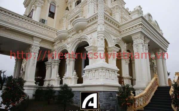 thiet ke lau dai 001a - Các dự án thiết kế lâu đài đẹp đã thực hiện