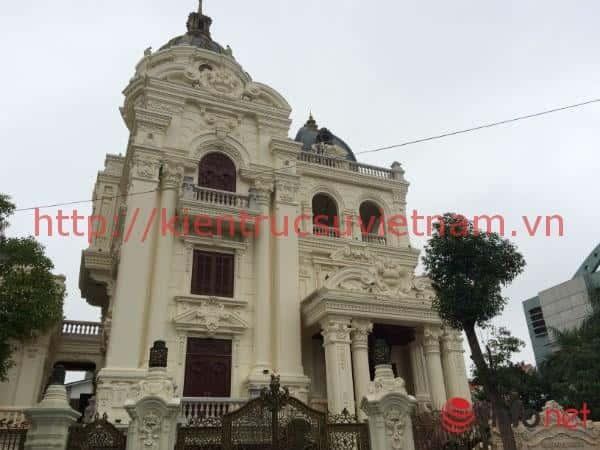 thiet ke lau dai 001dsa - Các dự án thiết kế lâu đài đẹp đã thực hiện