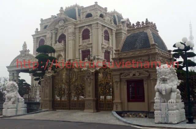 thiet ke lau dai 001g - Các dự án thiết kế lâu đài đẹp đã thực hiện