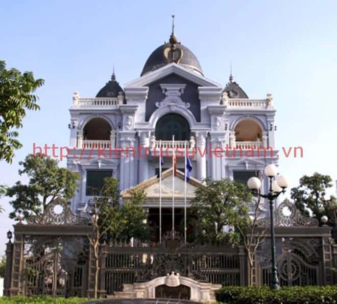 thiet ke lau dai chau au - Các dự án thiết kế lâu đài đẹp đã thực hiện
