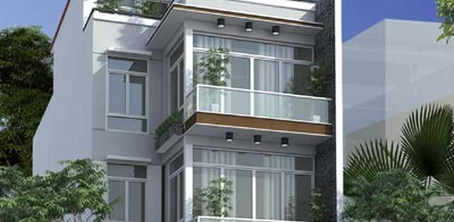 Tư vấn  thiết kế nhà phố mặt tiền 6m
