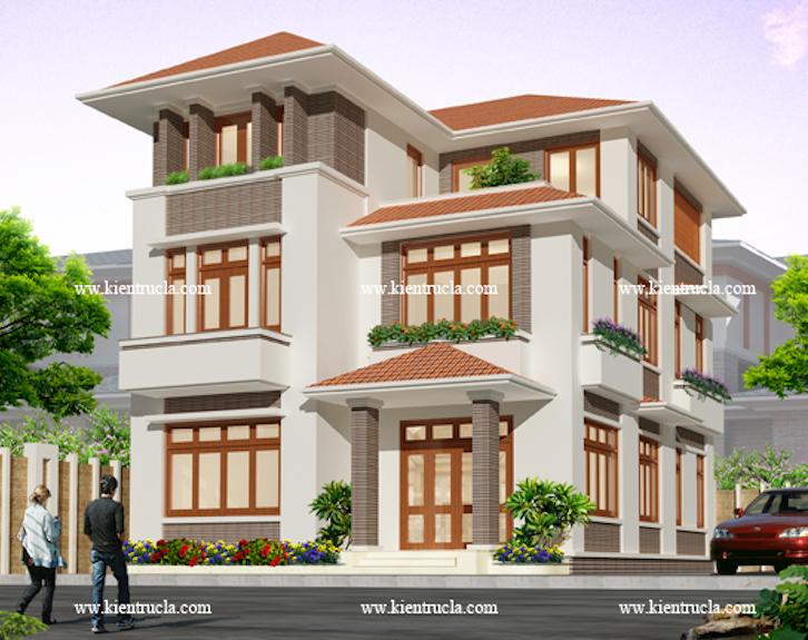 Mẫu thiết kế nhà phố mặt tiền 8m đẹp - Mẫu thiết kế nhà phố mặt tiền 8m