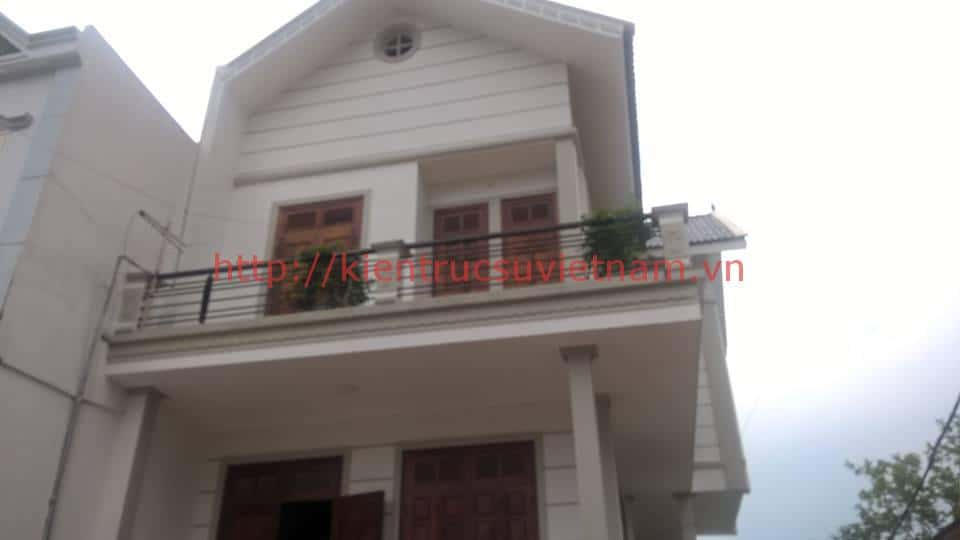 biet thu 2 tang hien dai binh xuyen vp 00211 - Thiết kế biệt thự 2 tầng hiện đại Bình Xuyên