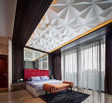 mau nha dep 30 7 2016 ms007 1 - Mẫu thiết kế nhà đẹp có gra ô tô, gồm 2 tầng, với không gian rộng, thoáng