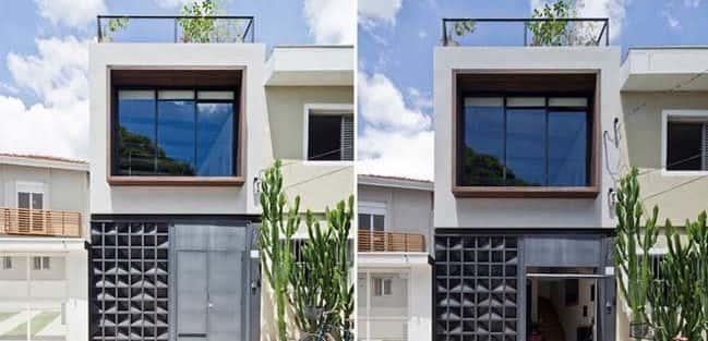 Mẫu thiết kế nhà phố 50m2