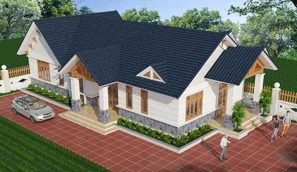 mau thiet ke nha 150m2 dep 2 - Top 15 mẫu nhà cấp 4 đẹp được nhiều người thích lựa chọn xây dựng