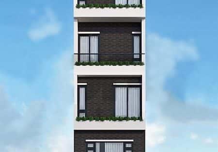 Mẫu thiết kế nhà phố 3.5x18m