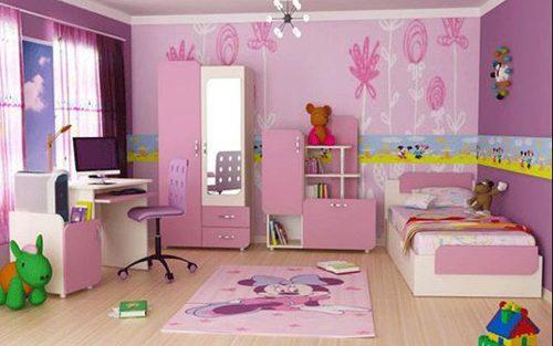 Tư Vấn  thiết kế nội thất phòng ngủ xinh xắn cho bé yêu