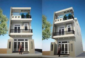 nhà phố 6x25m ms001e 300x204 - Mẫu thiết kế nhà phố 6x25m