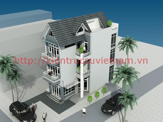 nhà phố 70m2 - Mẫu thiết kế nhà 70m2
