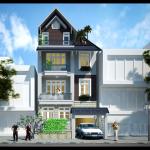 Mẫu thiết kế nhà phố 7x18m