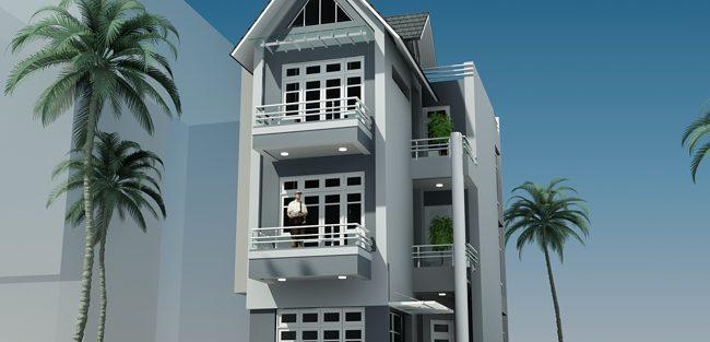Mẫu thiết kế nhà 80m2