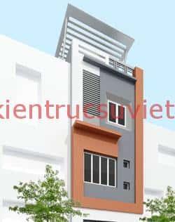 nha 3 tang 30m2 t1003 - Bộ sưu tập những mẫu thiết kế nhà đẹp diện tích nhỏ 30m2