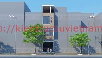 nha 4 tang 30m2 t100 - Tư vấn thiết kế nhà 3 tầng 40m2