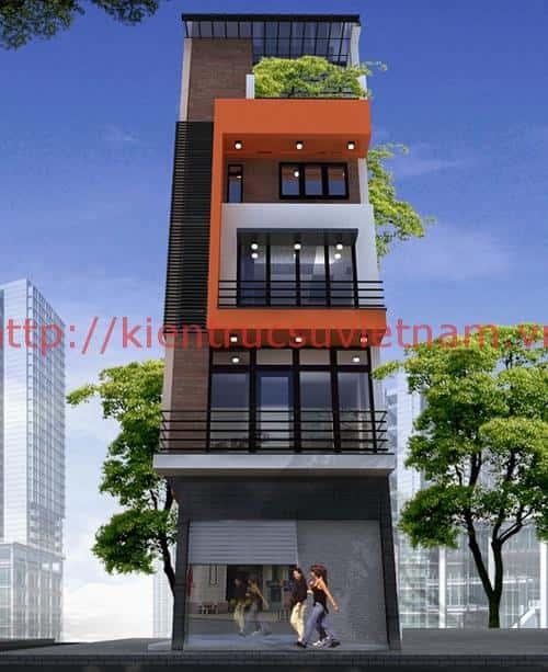 nha 5 tang 30m2 1 - Bộ sưu tập những mẫu thiết kế nhà đẹp diện tích nhỏ 30m2