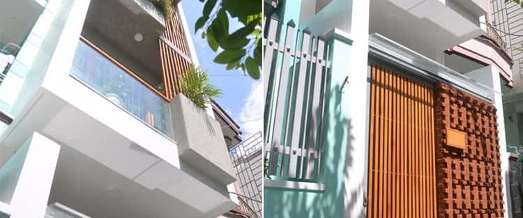 Mẫu thiết kế nhà phố 40m2