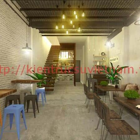 thiet ke nha hang han quoc o tai da nang tang 1 2 - Thiết kế nhà hàng Hàn Quốc ở tại Đà Nẵng