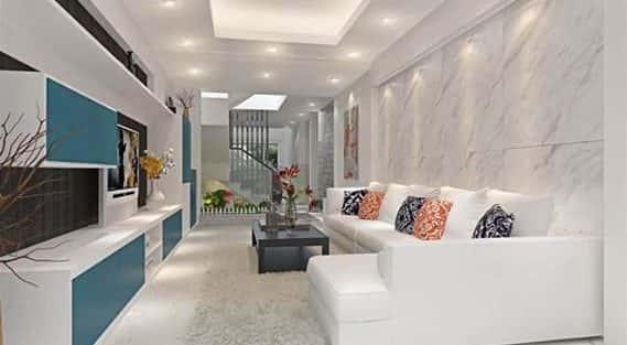 Tư vấn thiết kế nội thất nhà ống mặt tiền 3,6 m