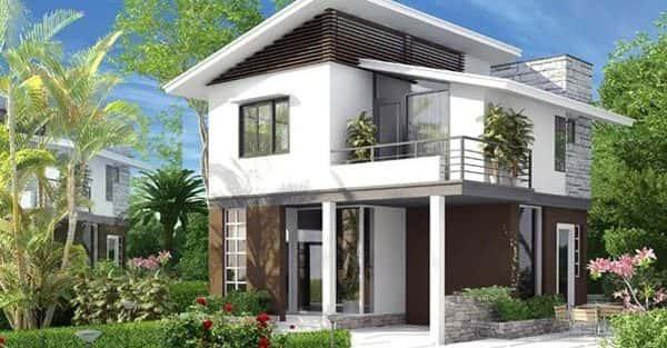 24 Mẫu thiết kế nhà biệt thự 2 tầng đẹp hiện đại