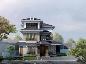 biệt thự 3 tầng hiện đại diện tích 97x195m 300x225 - Tư vấn thiết kế biệt thự vườn hiện đại