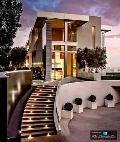 biet thu 2 tang dep btd001 - Tư vấn 12 Mẫu thiết kế biệt thự 2 tầng đẹp hiện đại, sang trọng