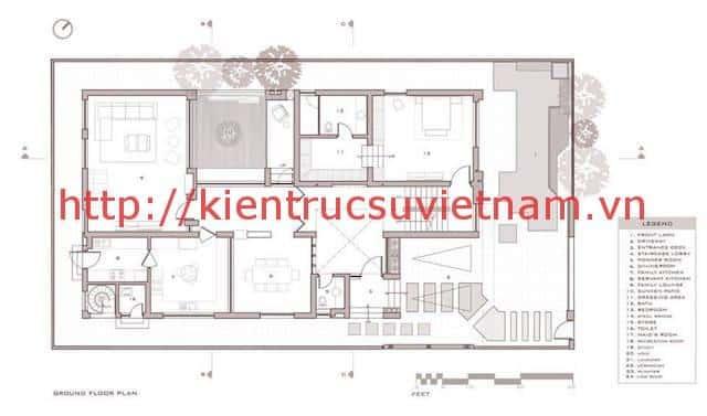 biet thu 3 tang hien dai gangui thien nhien 001 mbang - Biệt thự 3 tầng với phong cách hiện đại gần gũi với thiên nhiên