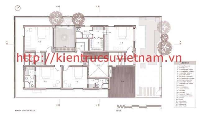 biet thu 3 tang hien dai gangui thien nhien 001mb3 - Biệt thự 3 tầng với phong cách hiện đại gần gũi với thiên nhiên