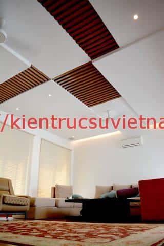 biet thu 3 tang hien dai gangui thien nhien 004 - Biệt thự 3 tầng với phong cách hiện đại gần gũi với thiên nhiên