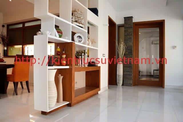 biet thu 3 tang hien dai gangui thien nhien 006 - Biệt thự 3 tầng với phong cách hiện đại gần gũi với thiên nhiên