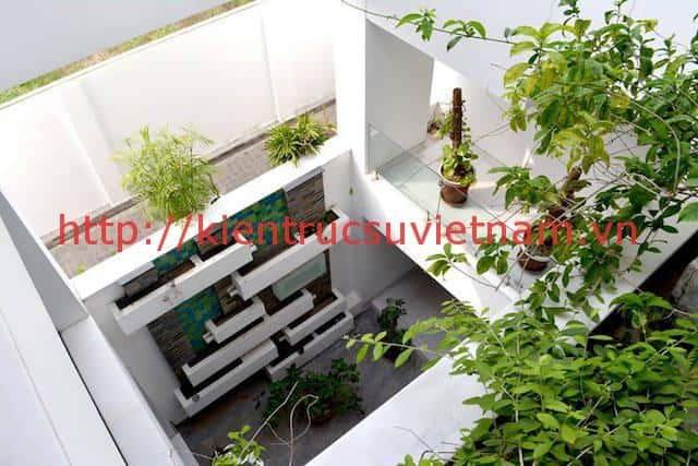 biet thu 3 tang hien dai gangui thien nhien 008 - Biệt thự 3 tầng với phong cách hiện đại gần gũi với thiên nhiên