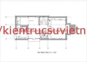 biet thu 3 tang mat bang tang 3 300x212 - Thiết kế biệt thự 3 tầng bán cổ điển đẹp