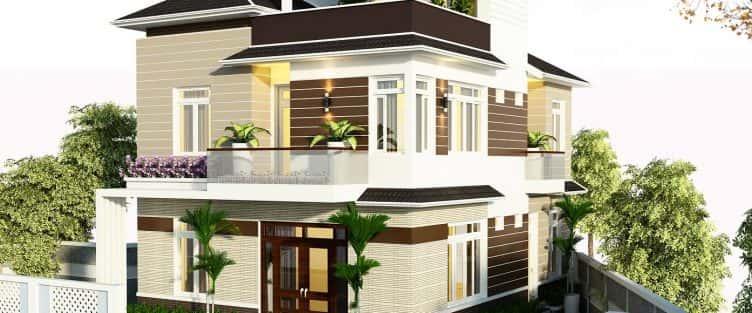 Thiết kế biệt thự đẹp Quận Hải Châu Đà Nẵng