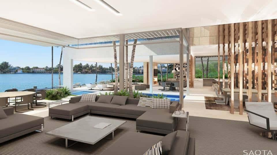 biet thu hien dai co be boi ms007 - Thiết kế biệt thự có hồ bơi đẹp và hiện đại