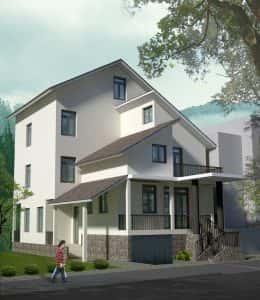 biet thu quang binh dep 260x300 - Biệt thự 3 tầng đẹp Quảng Bình phong cách hiện đại