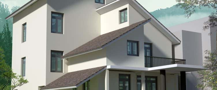 Biệt thự 3 tầng đẹp Quảng Bình phong cách hiện đại
