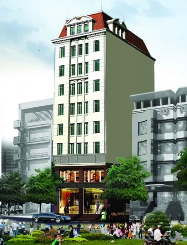 khach san xjpg - Thiết kế khách sạn 9 tầng đẹp