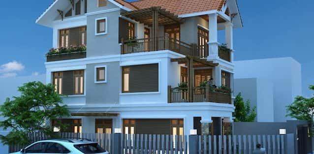 14 Mẫu thiết kế biệt thự 3 tầng đẹp và phong cách