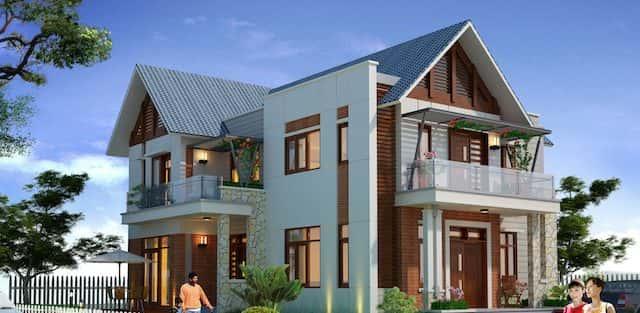 Thiết kế nhà với 750 triệu