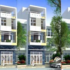 mau nha 80m2 hep dai 1a - Tư vấn hiết kế Nhà chia lô 80 m2 hẹp và dài đẹp nhất