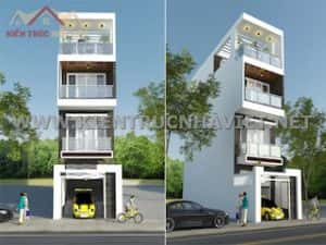 mau nha 80m2 hep dai 6 300x225 - Tư vấn hiết kế Nhà chia lô 80 m2 hẹp và dài đẹp nhất