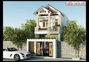 mau nha dep da nang 2 tang 300x208 - Thiết kế nhà mặt phố 2 tầng quận Ngũ Hành Sơn Đà Nẵng