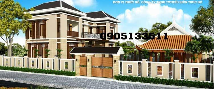 Thiết kế biệt thự anh Mạnh phường Thọ Quang Đà Nẵng