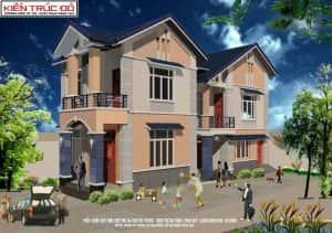 mau nha dep da nang ms0010 300x211 - Biệt thự 2 tầng Quận Ngũ Hành Sơn Đà Nẵng