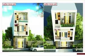 mau nha dep da nang ms008 300x197 - Mẫu nhà phố 3 tầng hiện đại ở Đà Nẵng đẹp
